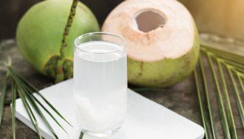 Vietnamese pure coconut water